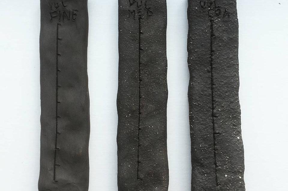 Vulcan black clay